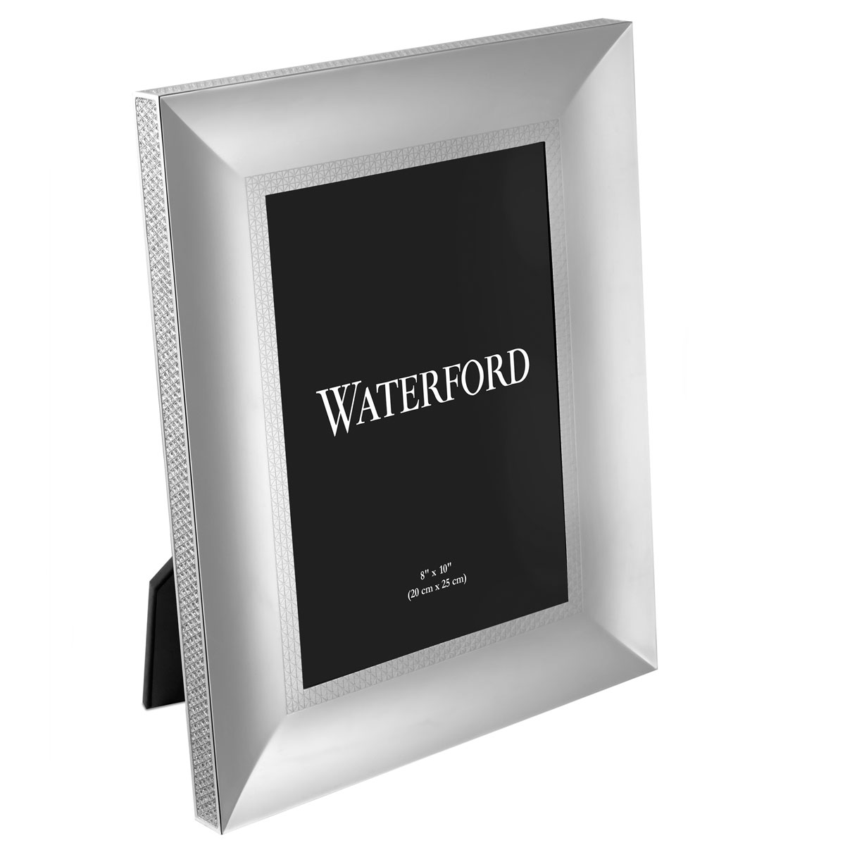 "Waterford Lismore Diamond Silver 8x10"" Picture Frame"