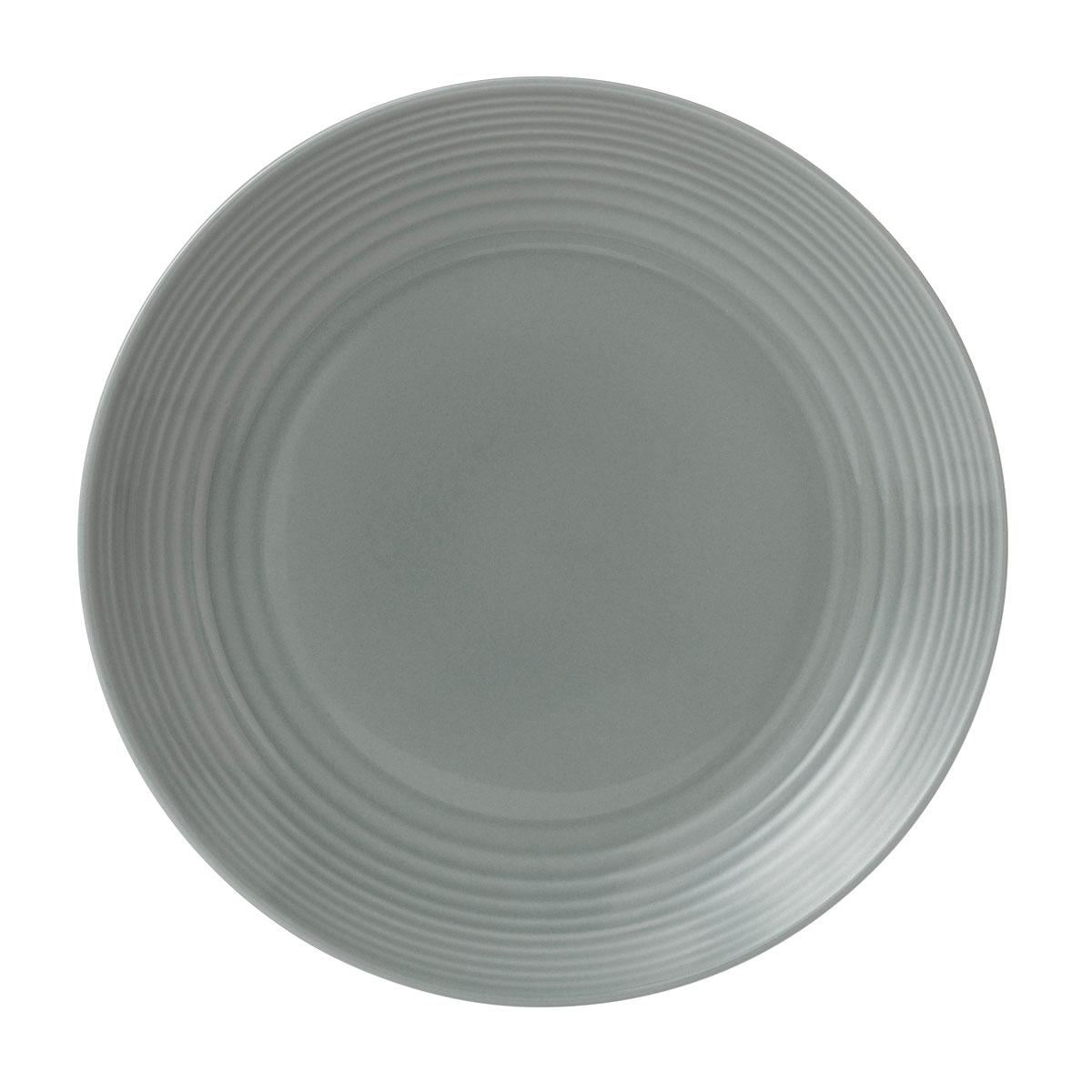 "Royal Doulton Gordon Ramsay Maze Dark Grey Dinner Plate 11"""
