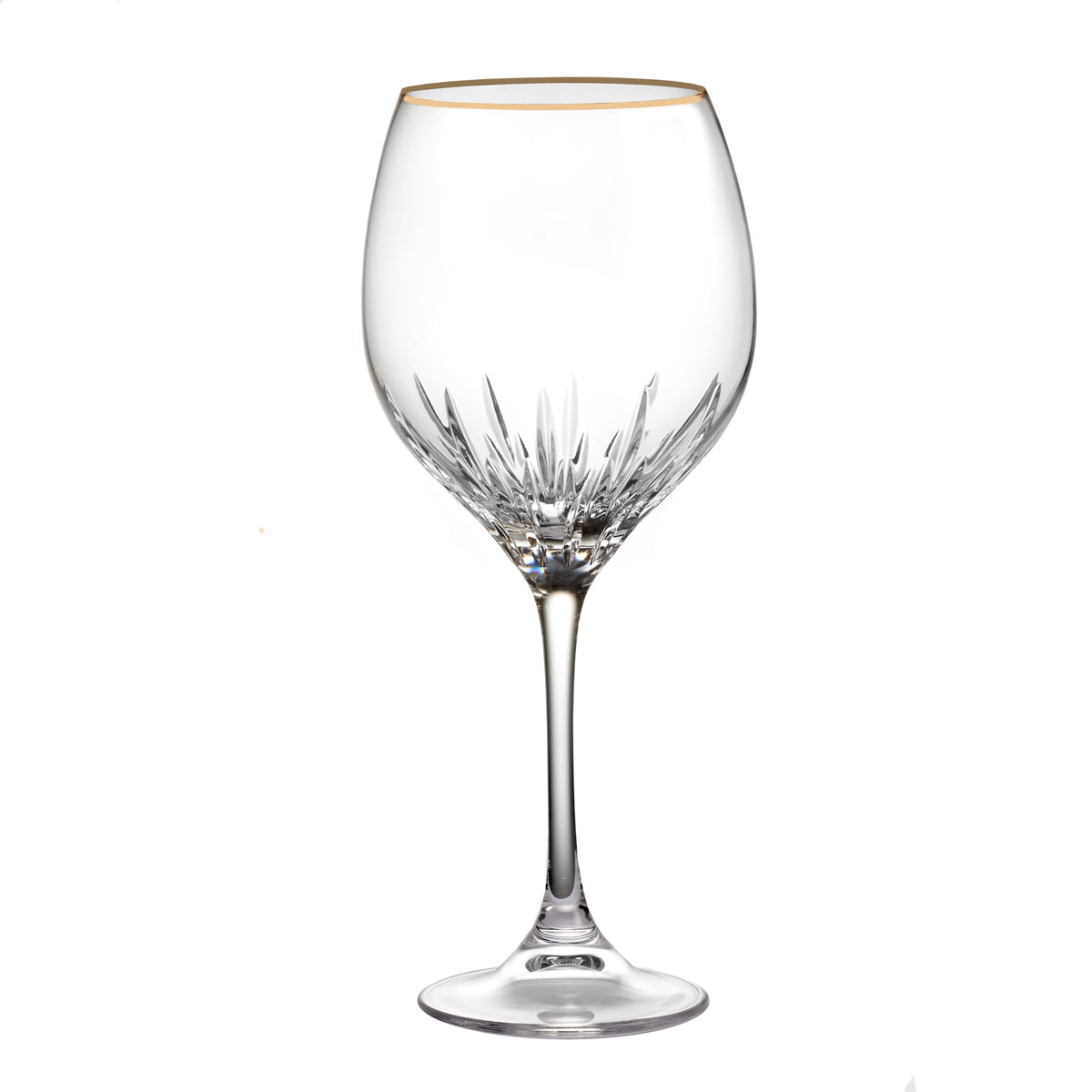 Vera Wang Wedgwood, Duchesse Gold Crystal Goblet, Single