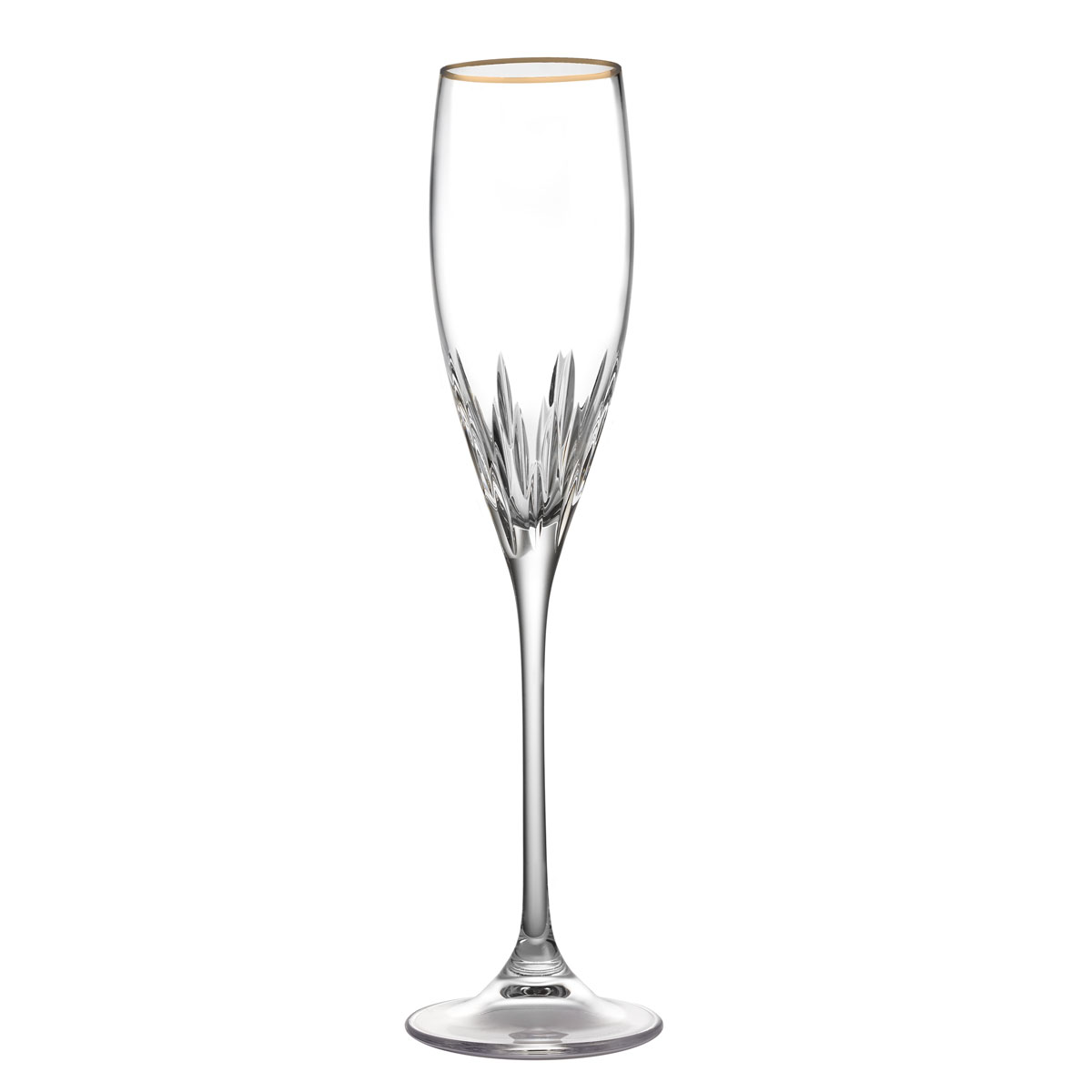 Vera Wang Wedgwood, Duchesse Gold Crystal Flute, Single