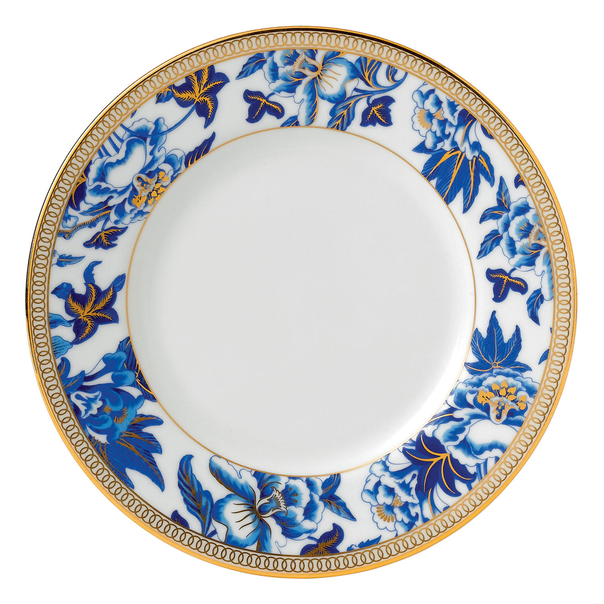 Wedgwood China Hibiscus Fine Bone Bread and Butter Plate, Single