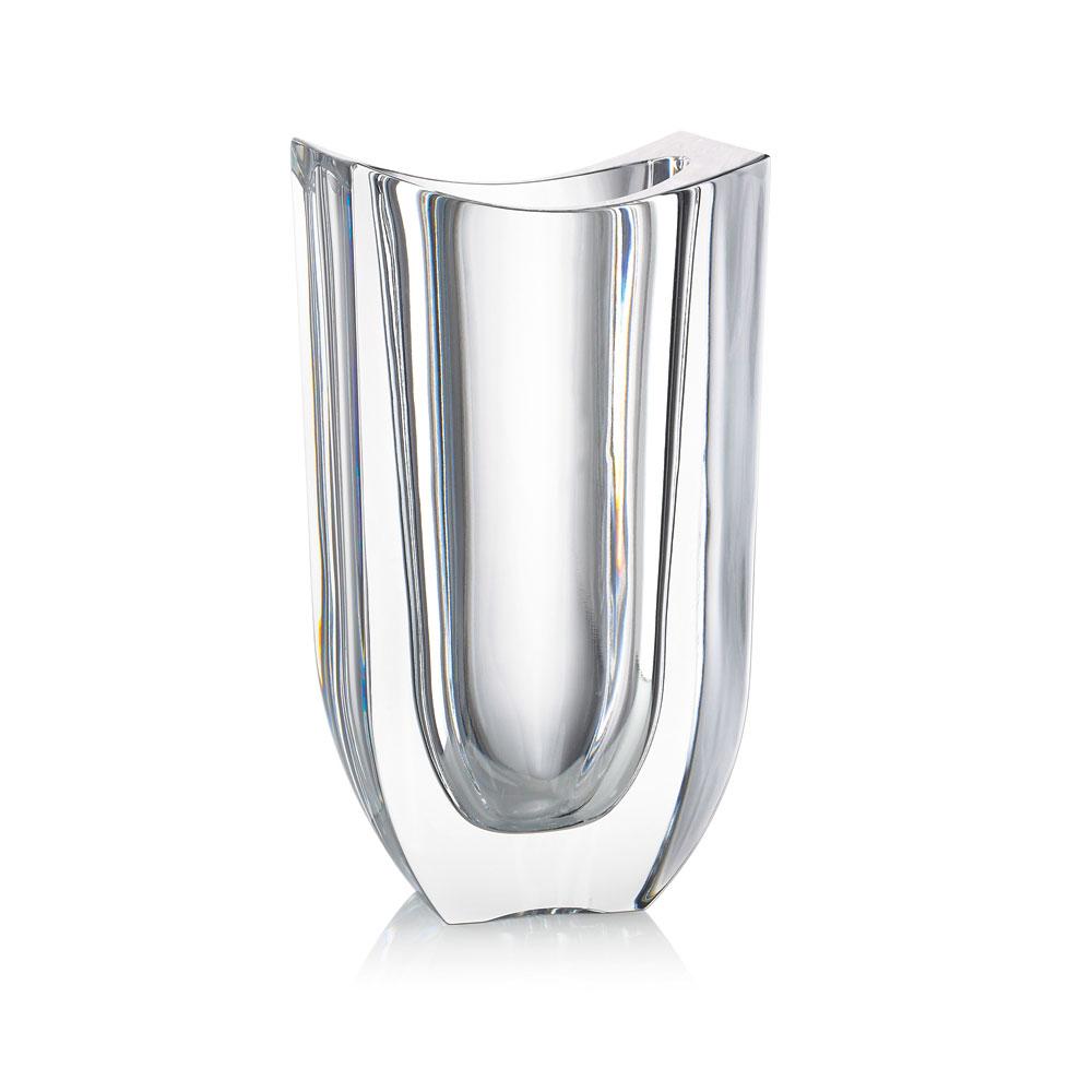 "Rogaska Crystal, 1665 Gondola 9"" Crystal Vase"
