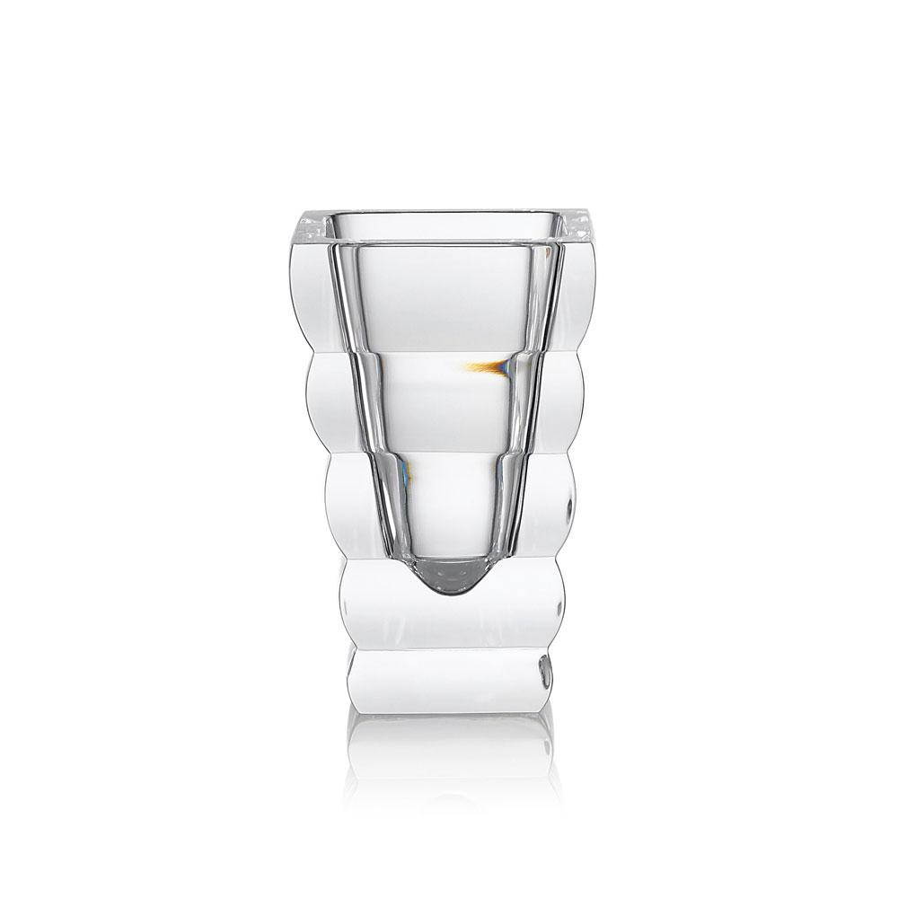 """Rogaska Crystal, Adria 10"""" Crystal Vase"""