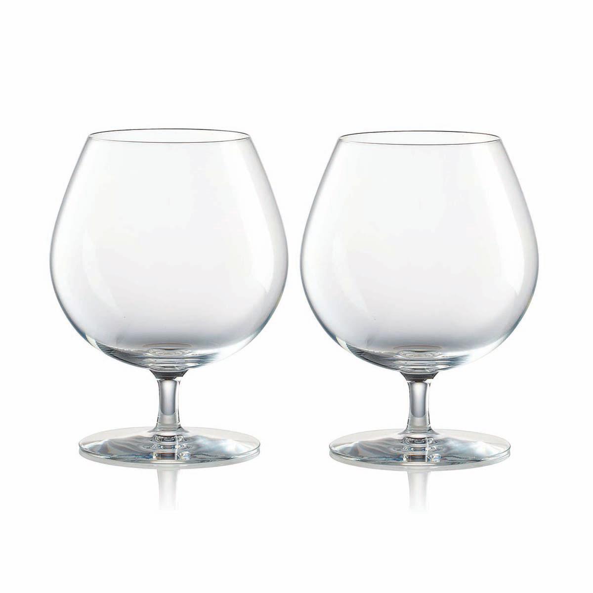 Rogaska Crystal, Expert Cognac, Pair