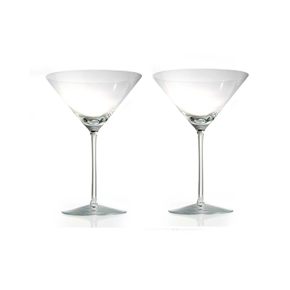 Rogaska Crystal, Expert Crystal Martini, Pair