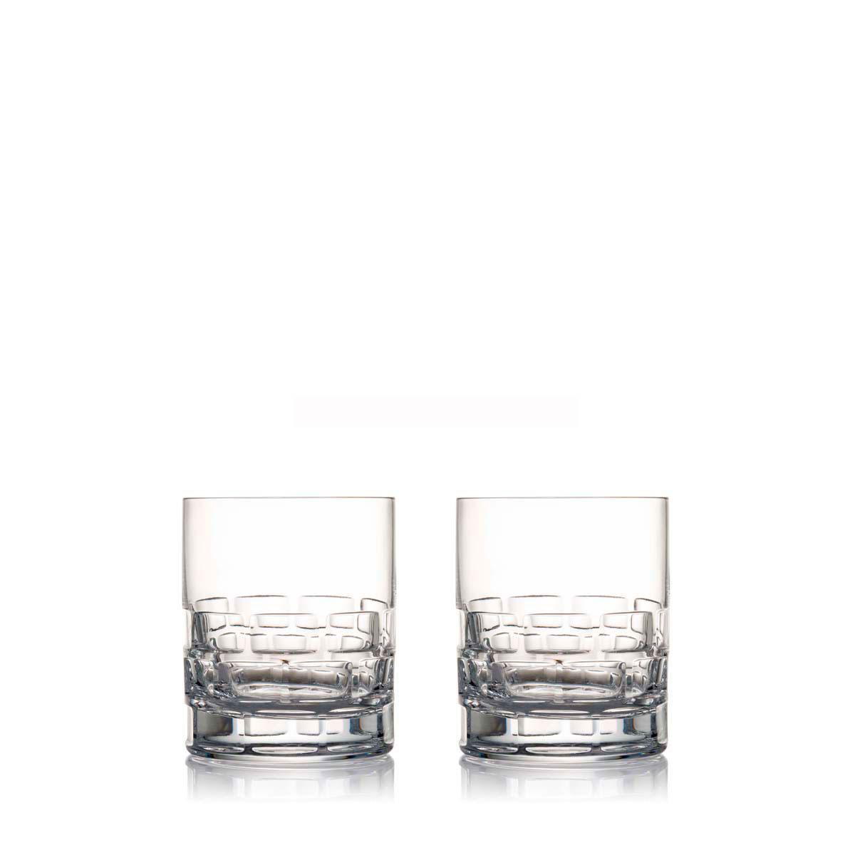 Rogaska Crystal, Maison Crystal DOF Tumbler, Pair