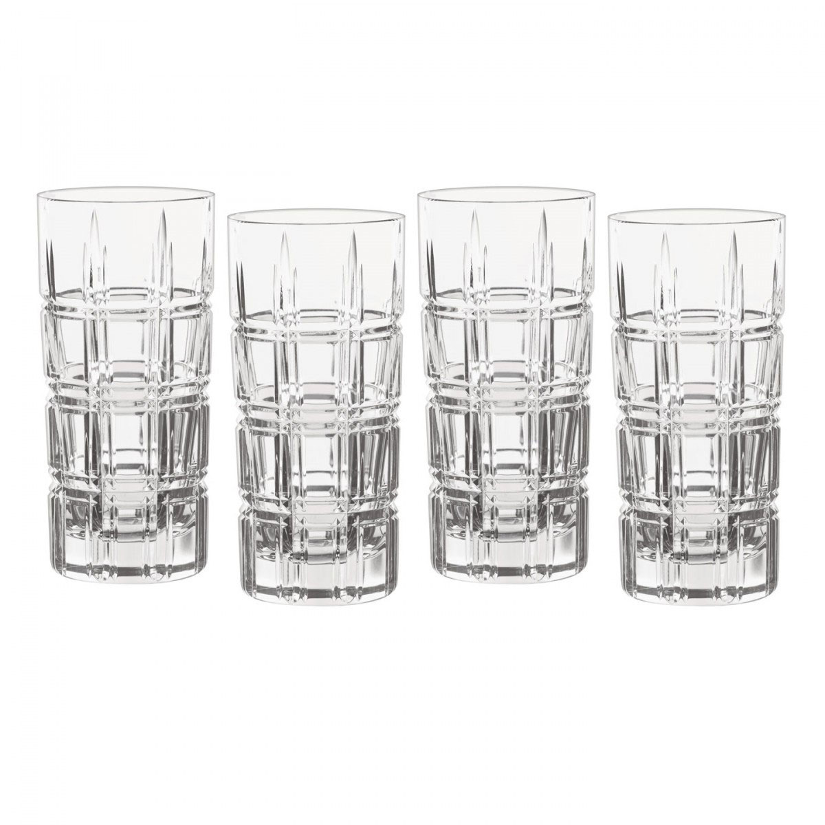Marquis by Waterford Crystal, Crosby Crystal Hiball, Set of Four