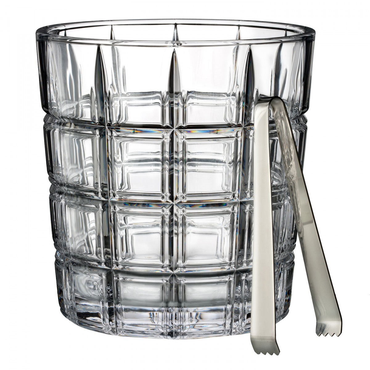 Marquis by Waterford, Crosby Ice Bucket with Tongs