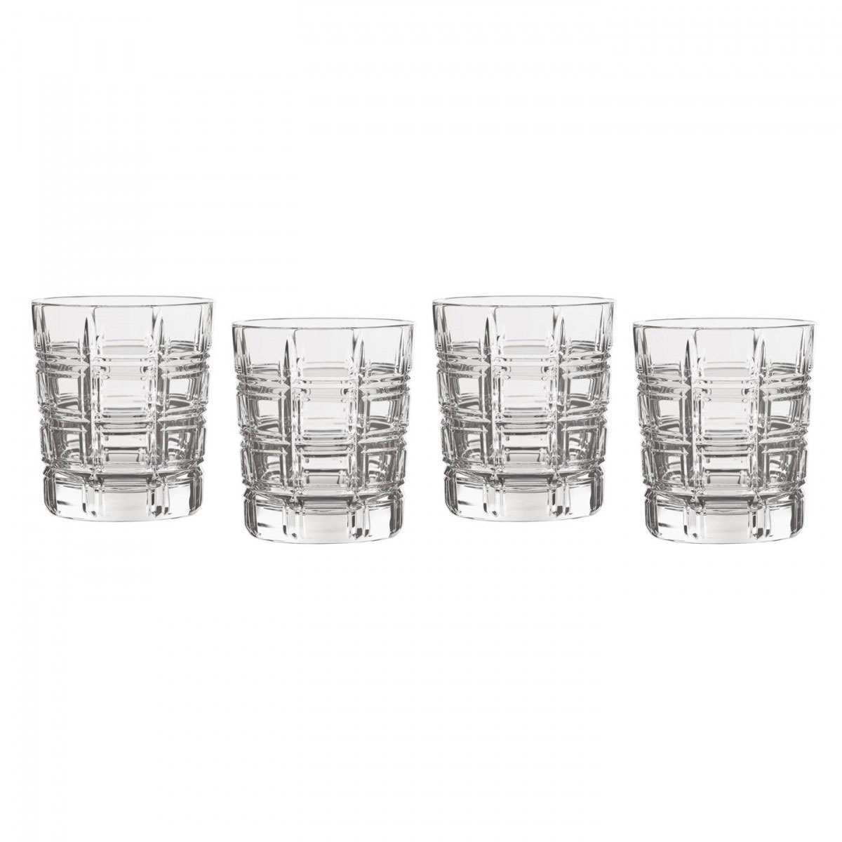 Marquis by Waterford Crystal, Crosby Crystal DOF Tumbler, Set of Four
