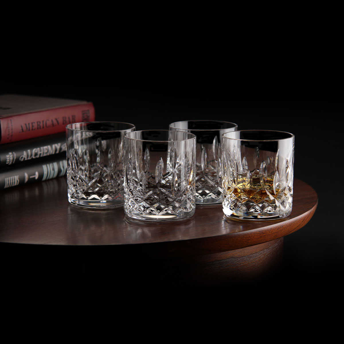 Lismore Connoisseur 7 Ounce Straight Sided Tumbler Set of 4 Waterford 40008682