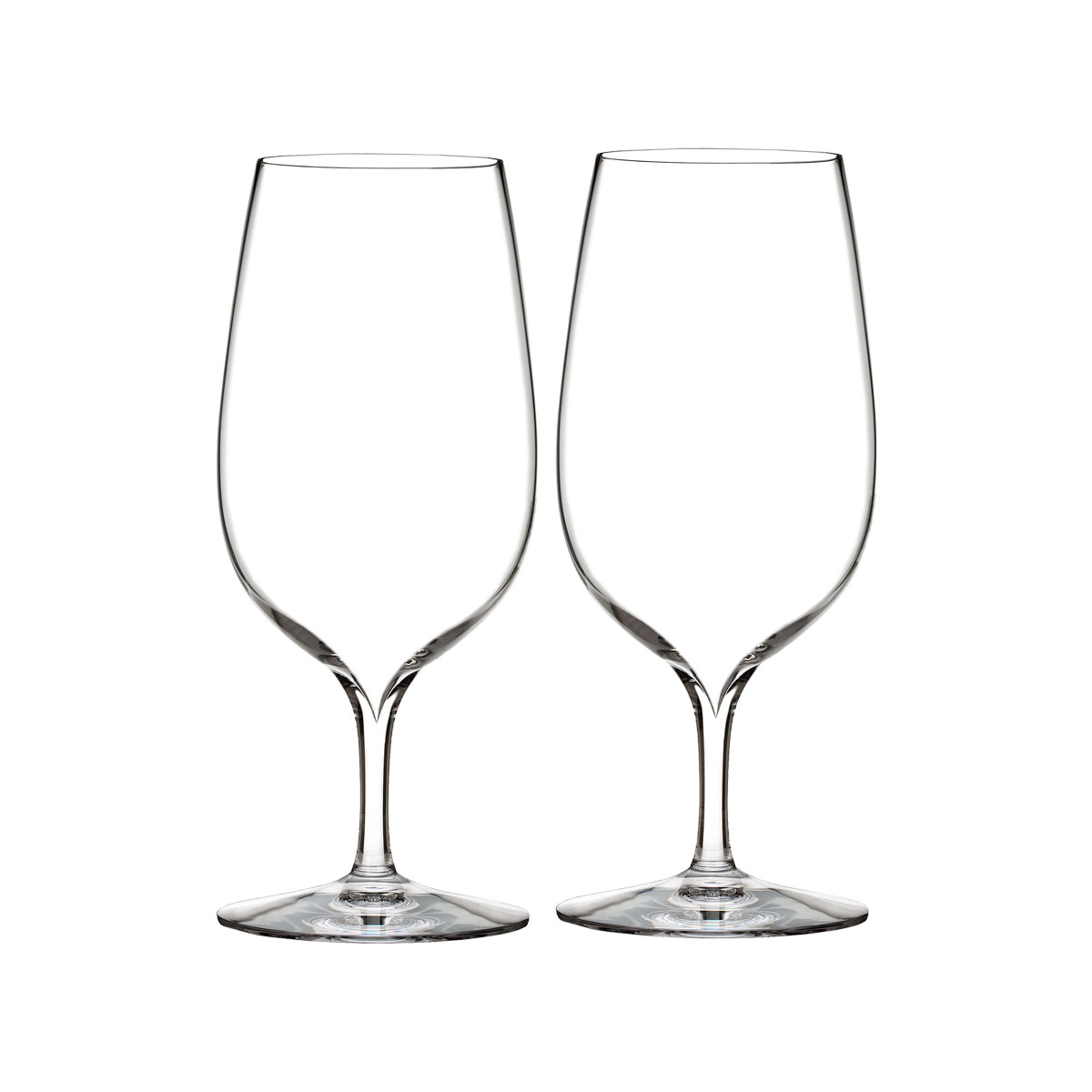 Waterford Crystal, Elegance Water Glass, Pair