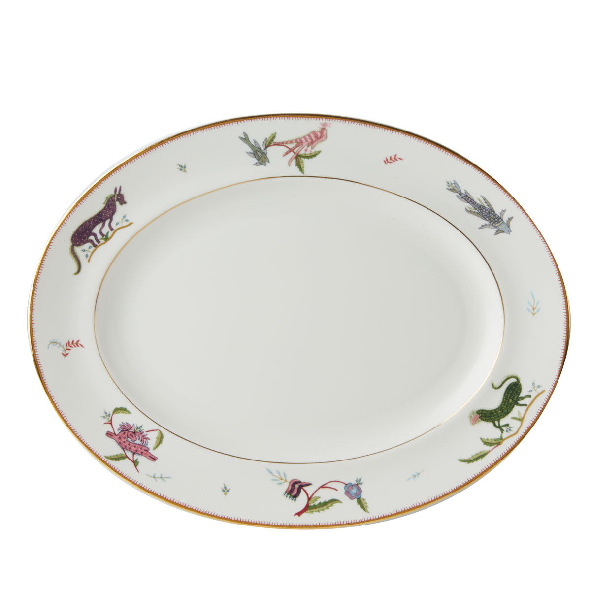 """Wedgwood Mythical Creatures Oval Platter 14"""""""