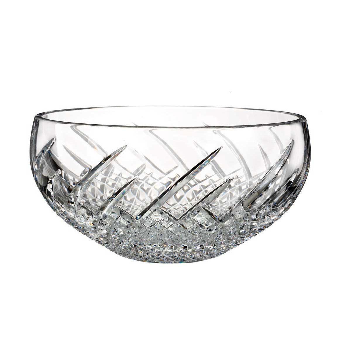 "Waterford Crystal, House of Waterford Wild Atlantic Way 9"" Crystal Bowl"
