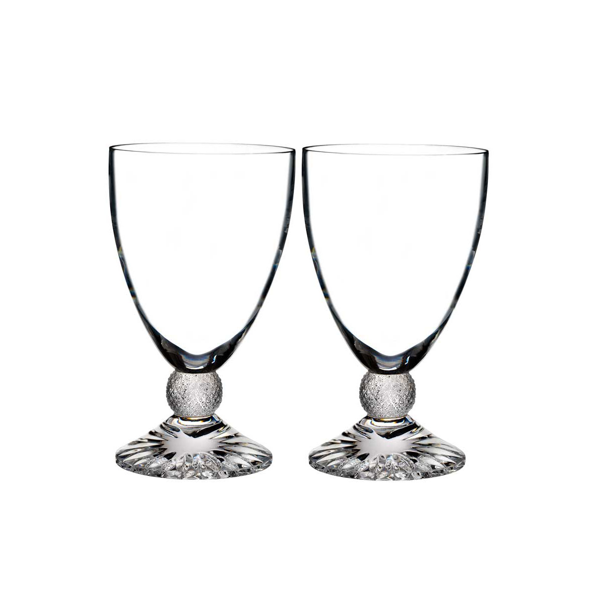 Waterford Crystal, Town and Country Riverside Drive Crystal Wine, Pair