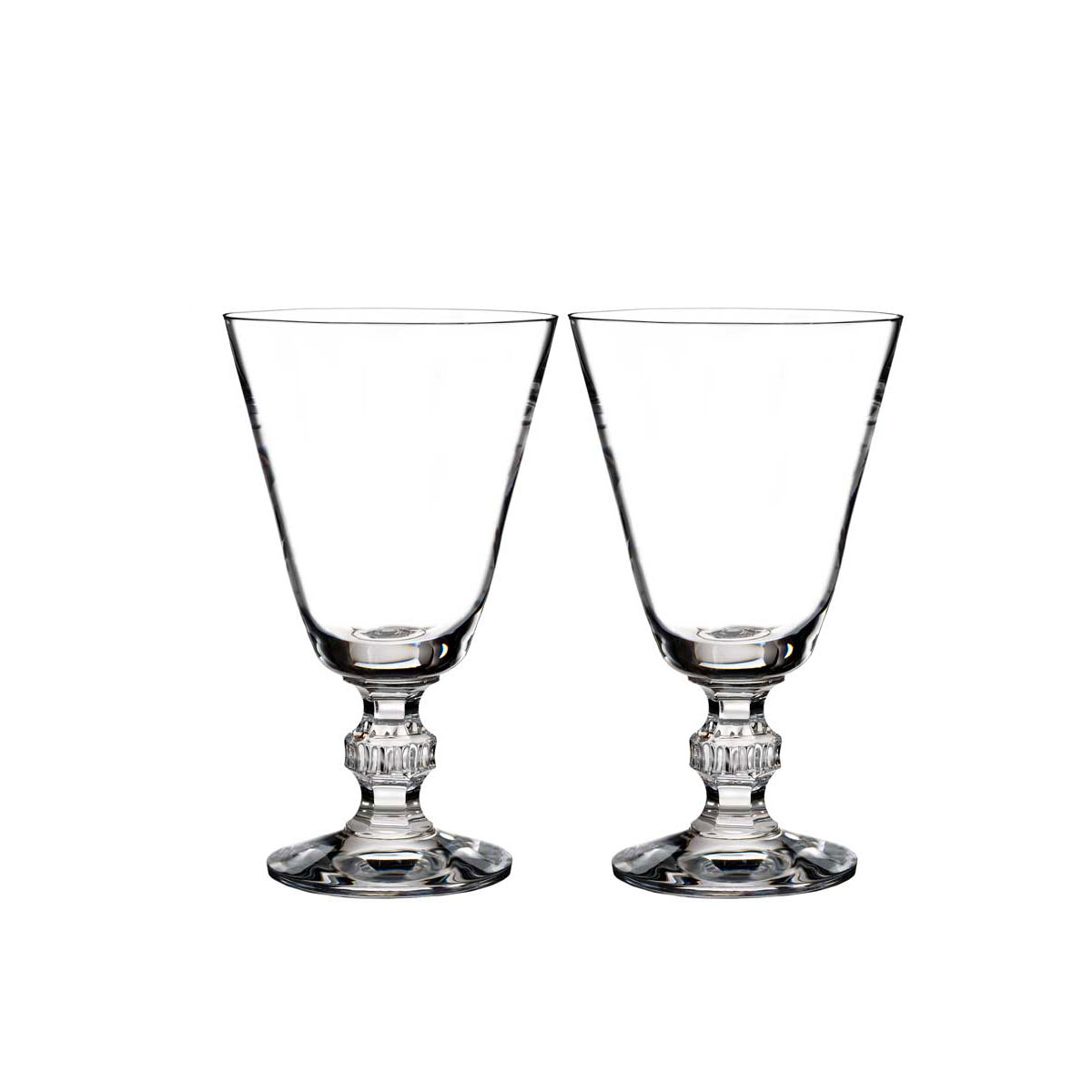 Waterford Crystal, Town and Country Ashton Lane Crystal Wine, Pair