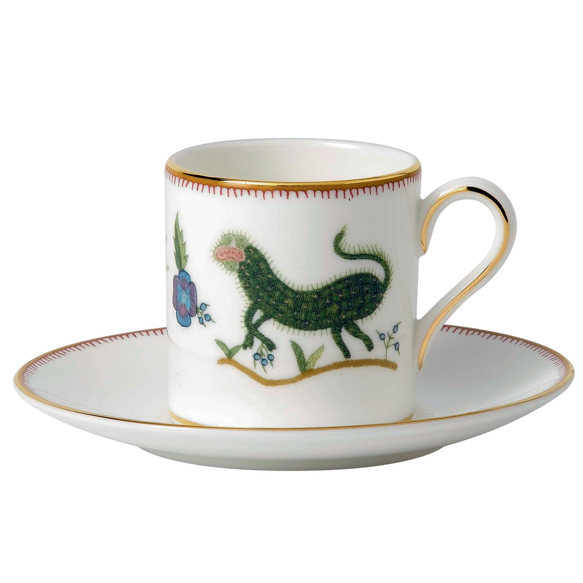 Wedgwood Mythical Creatures Coffee Cup and Saucer