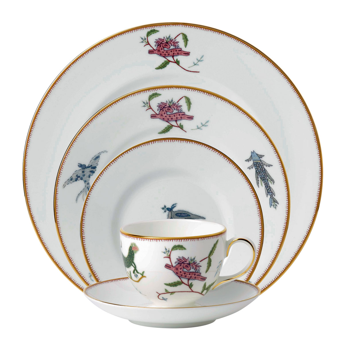 Wedgwood Mythical Creatures 5 Piece Place Setting