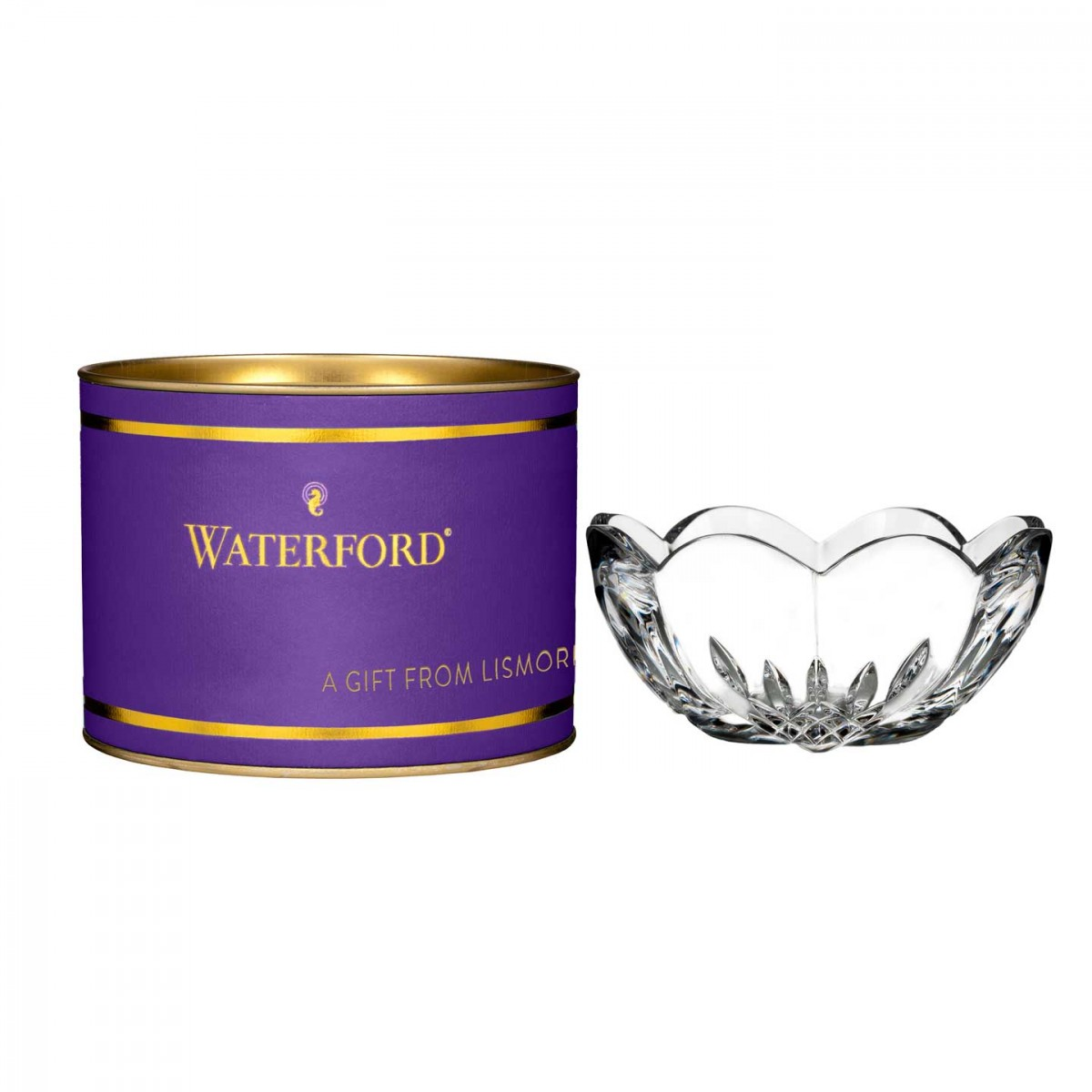 Waterford Giftology Lismore Heart Crystal Bowl