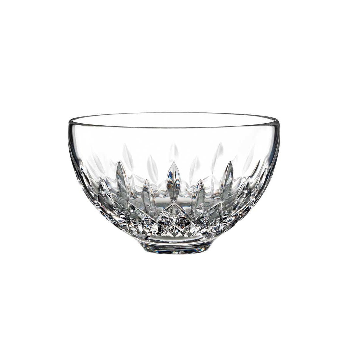 "Waterford Crystal, Giftology Lismore 5"" Honey Crystal Bowl"