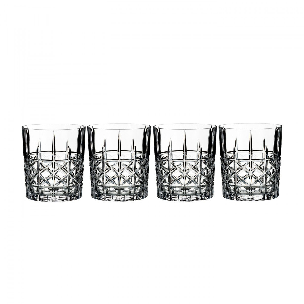 Marquis by Waterford Crystal, Brady Crystal DOF Tumbler, Set of Four