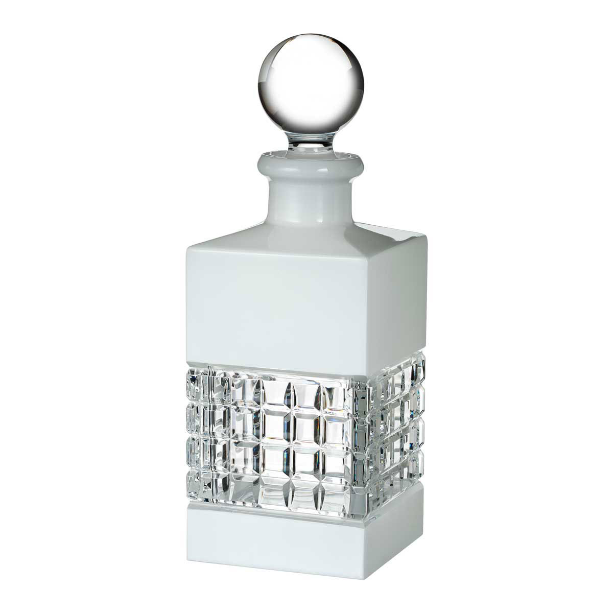 Waterford Crystal, London Square Crystal Decanter, White
