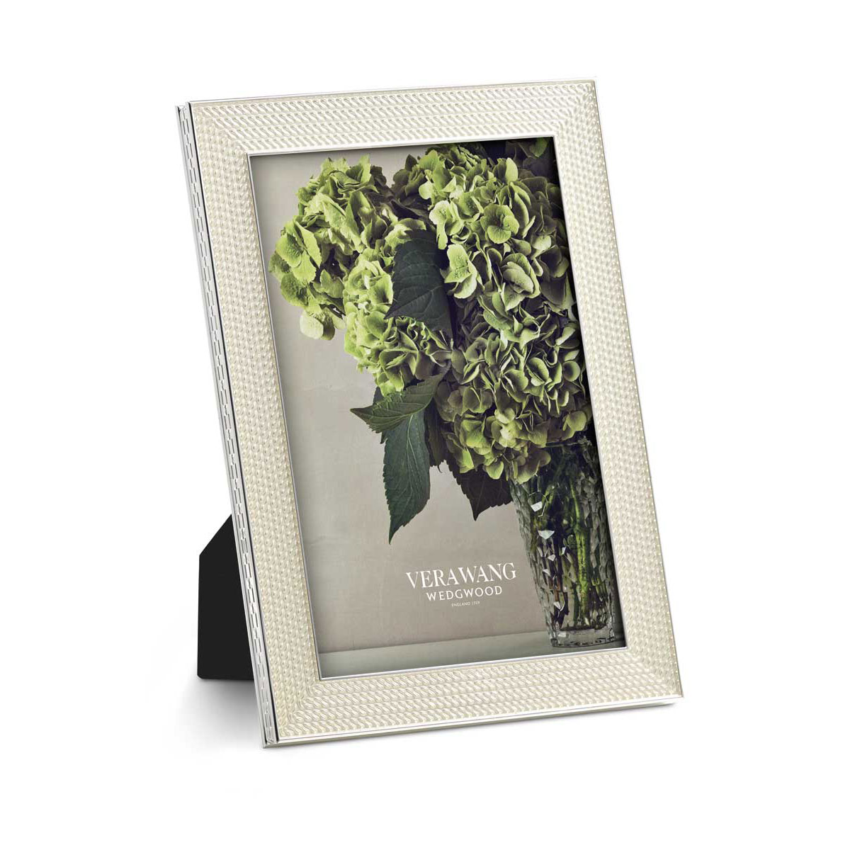 Vera Wang Wedgwood With Love Nouveau 4x6 Frame, Pearl