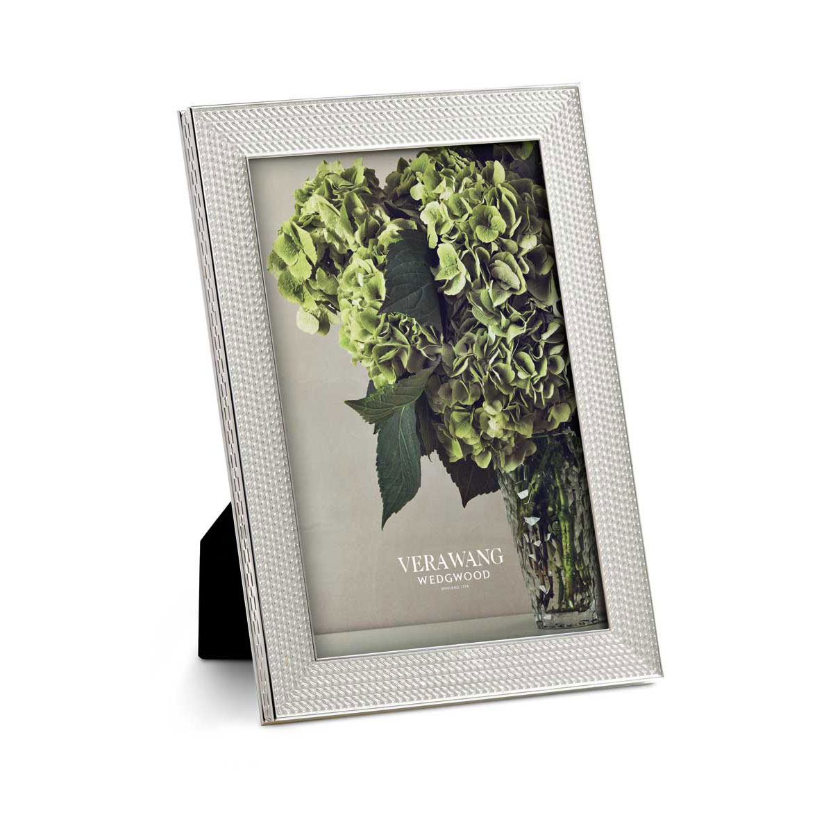 Vera Wang Wedgwood With Love Nouveau 4x6 Frame, Silver