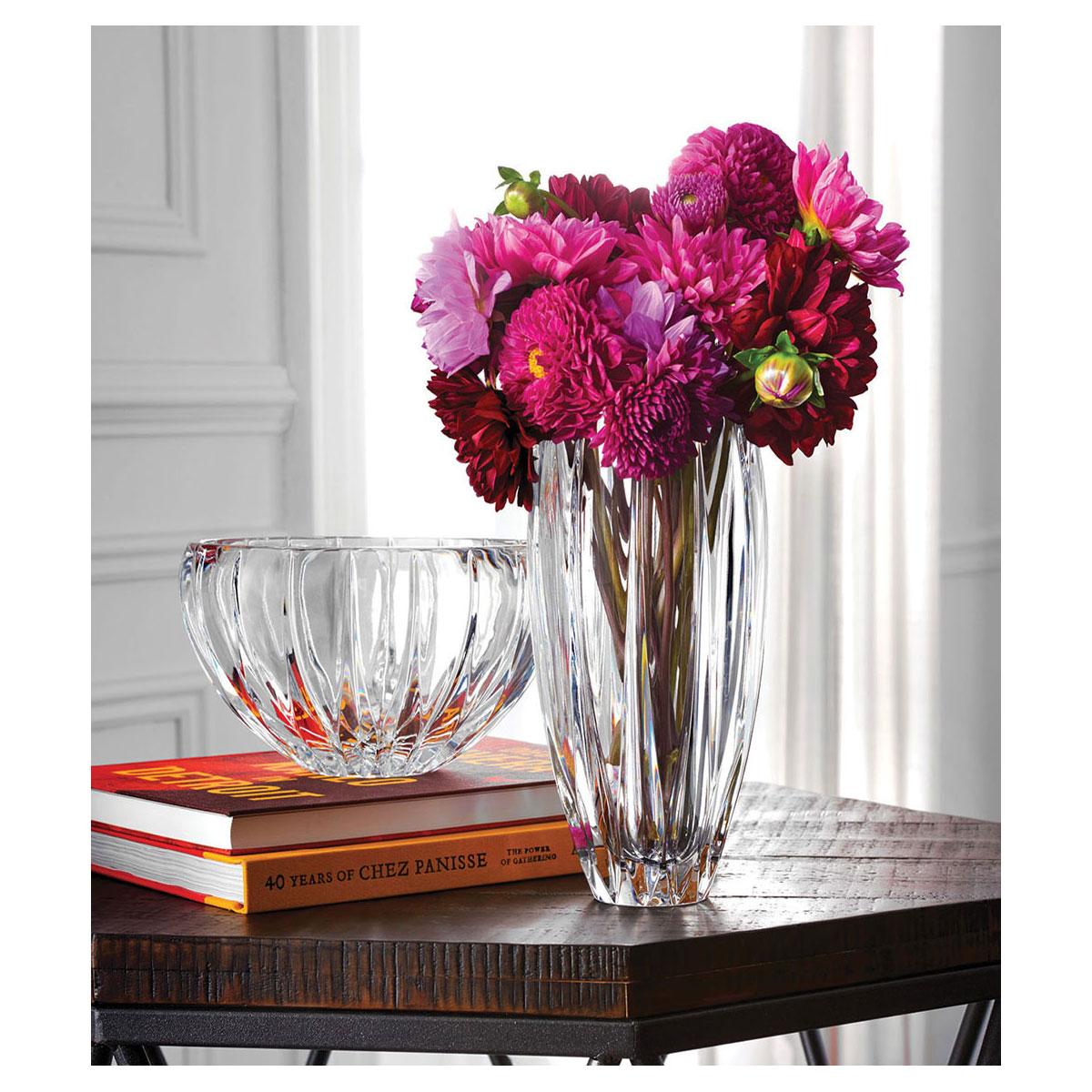 """Marquis by Waterford Crystal, Phoenix 11"""" Crystal Vase"""