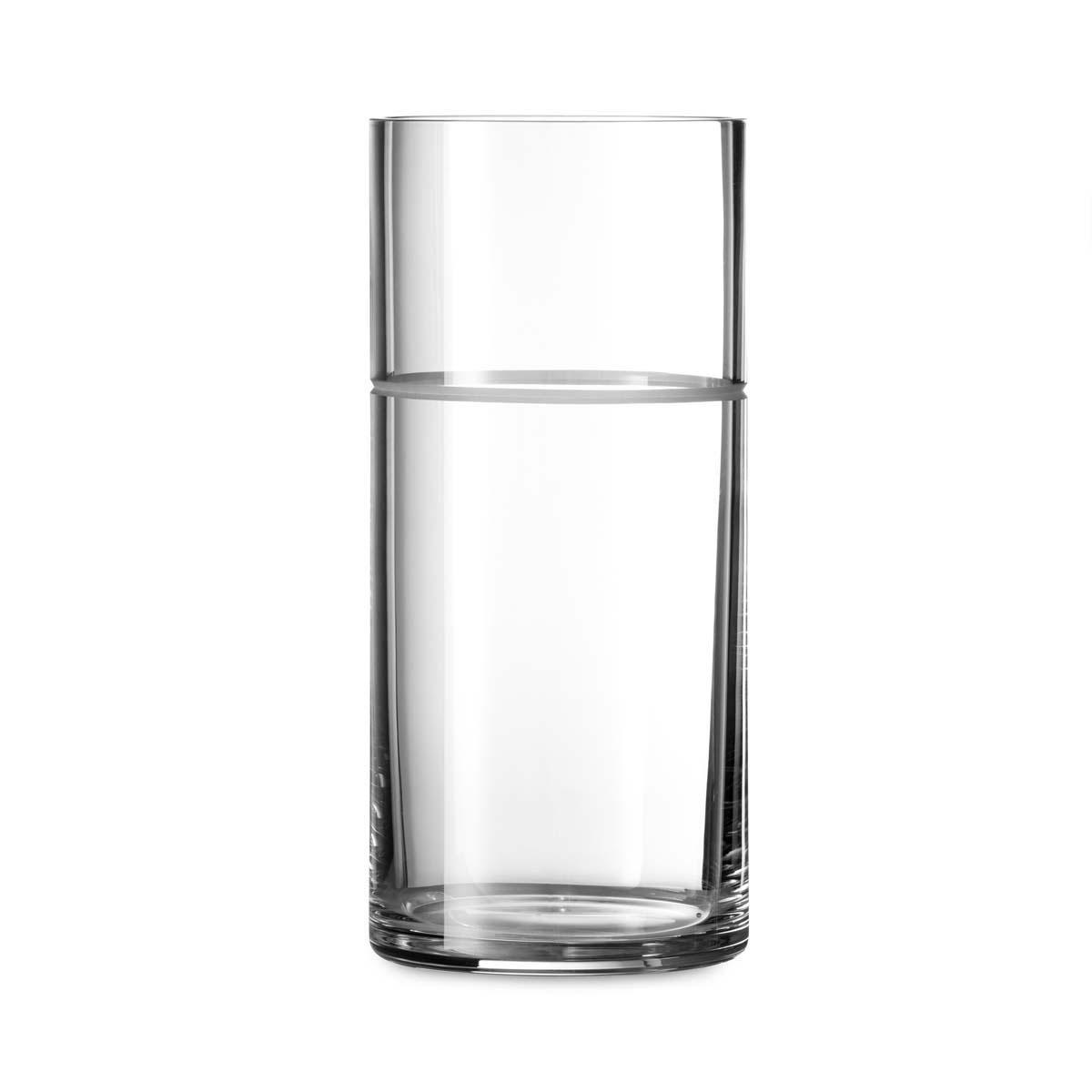 """Vera Wang Wedgwood Vera Bande Crystal Vase 9"""""""