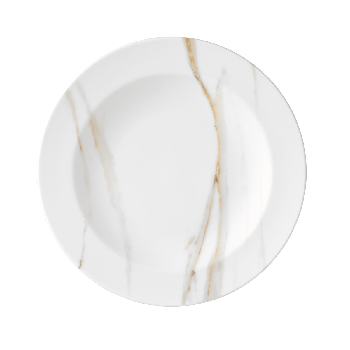 "Vera Wang Wedgwood Vera Venato Imperial Rim Soup 9"""