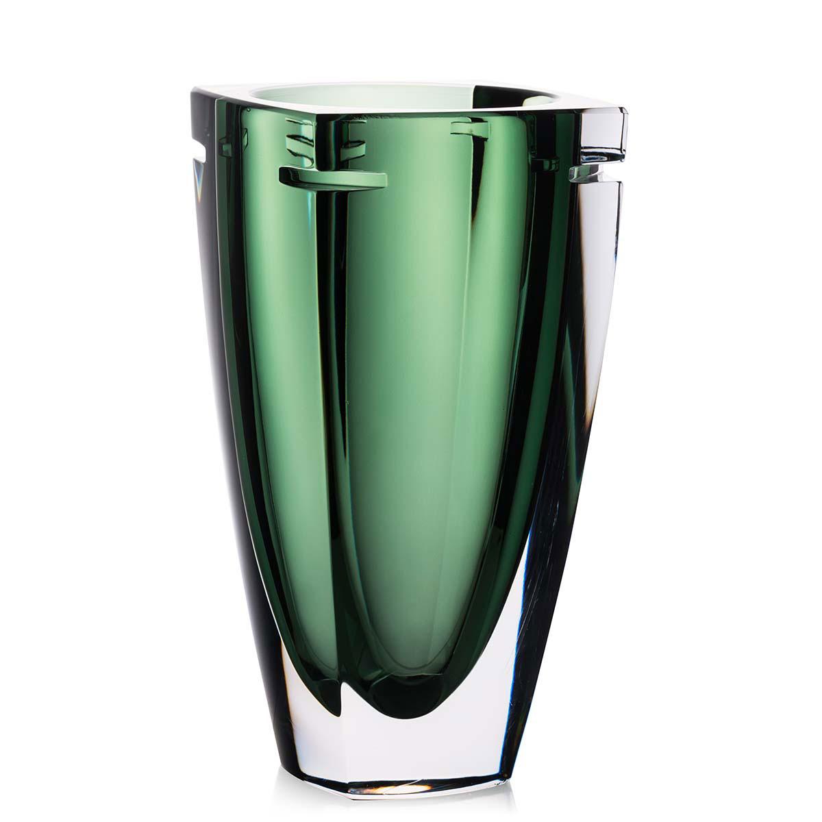 "Waterford Crystal, W Fern 10"" Crystal Vase"