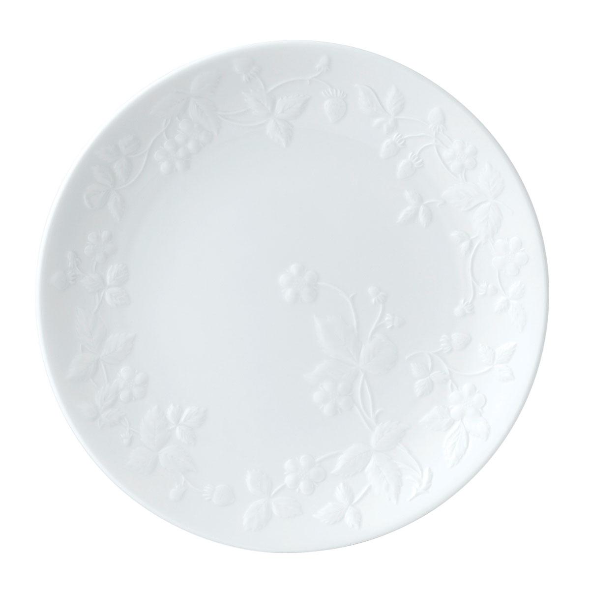 "Wedgwood Wild Strawberry White Salad Plate 8.3"""