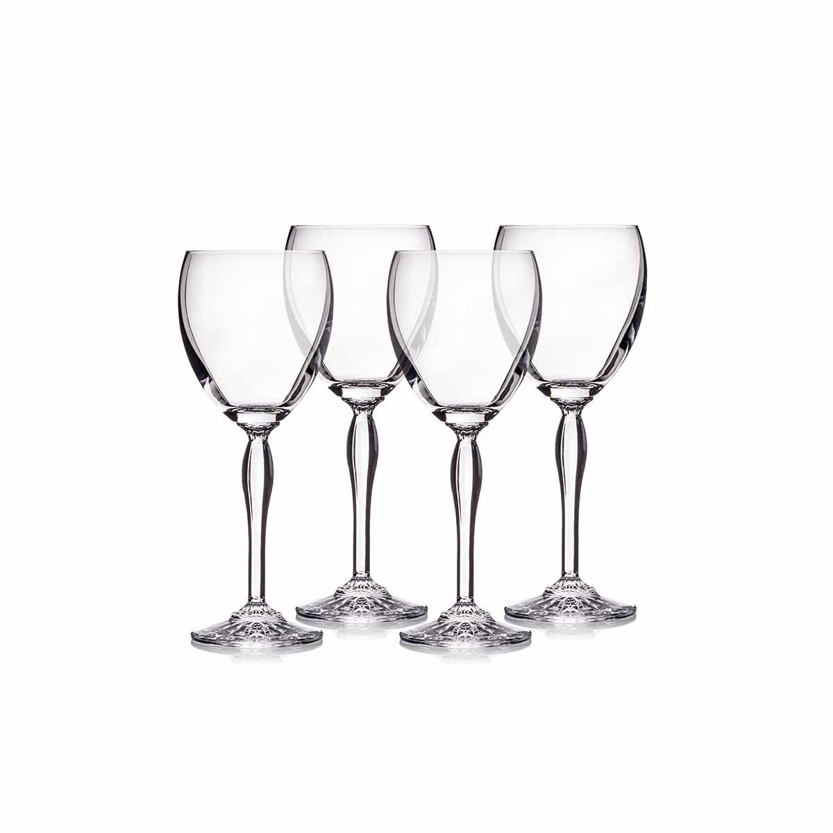 Marquis by Waterford Crystal, Ventura All Purpose Crystal Wine, Set of 4