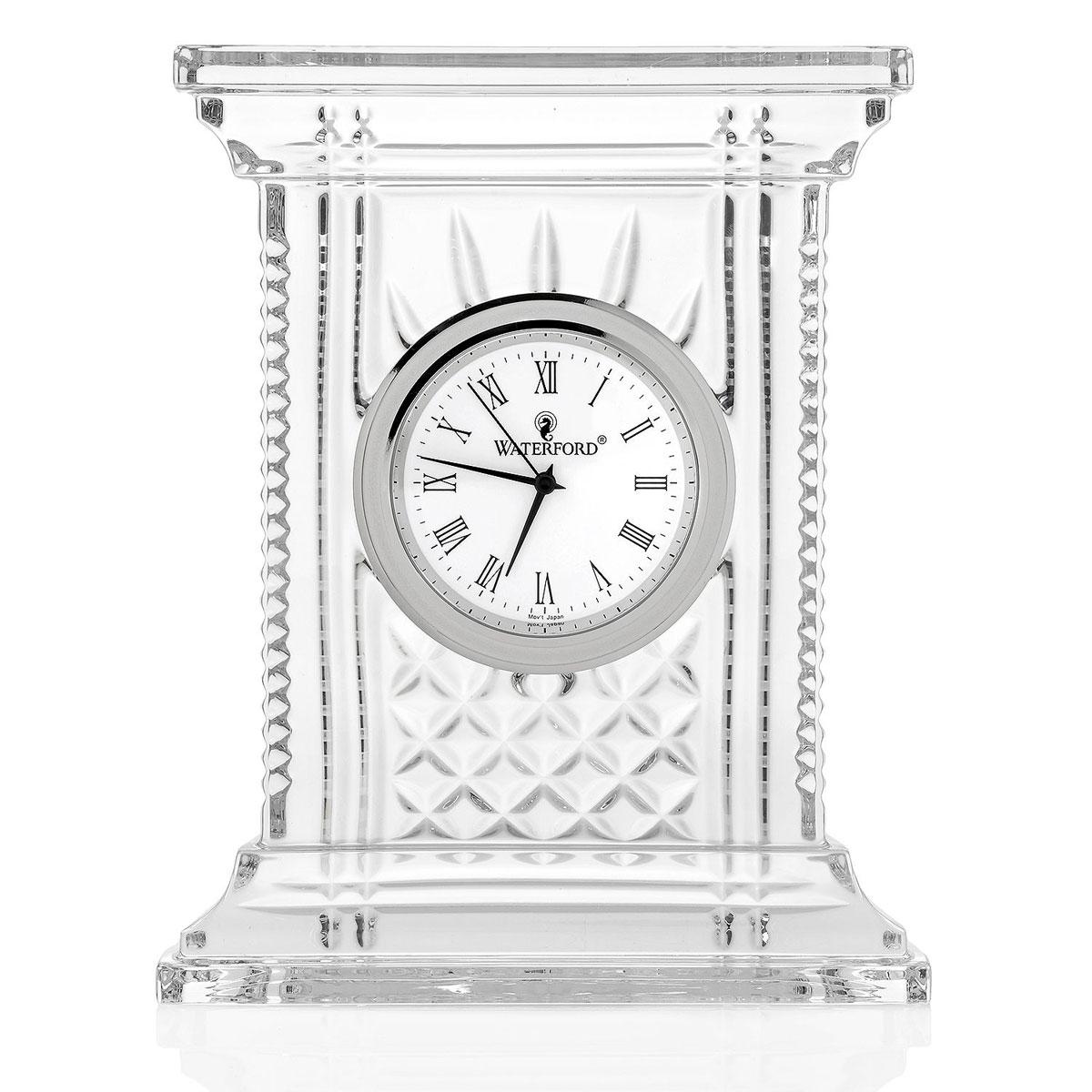 Waterford Atrium Crystal Clock