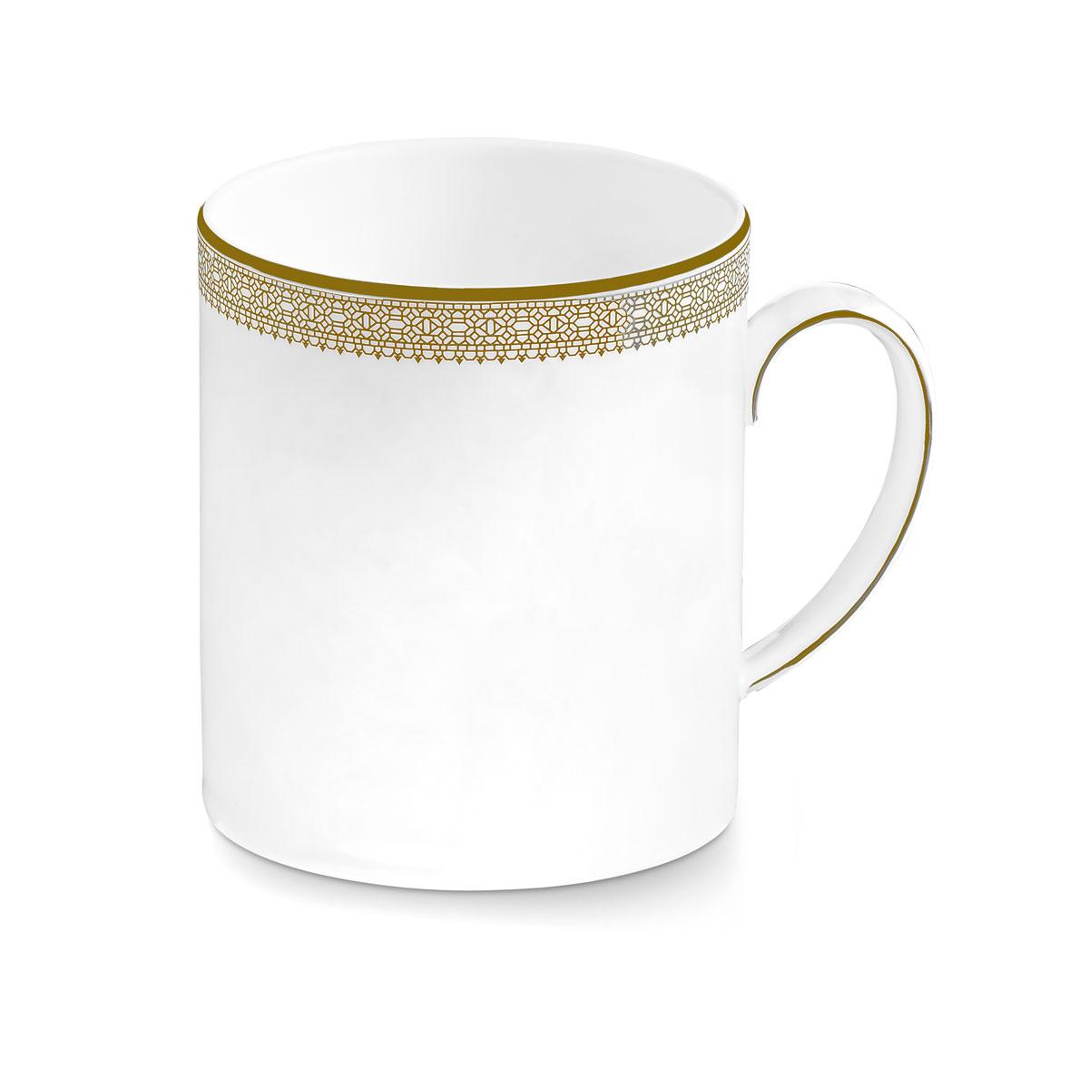 Vera Wang Wedgwood Vera Lace Gold Mug 15oz.