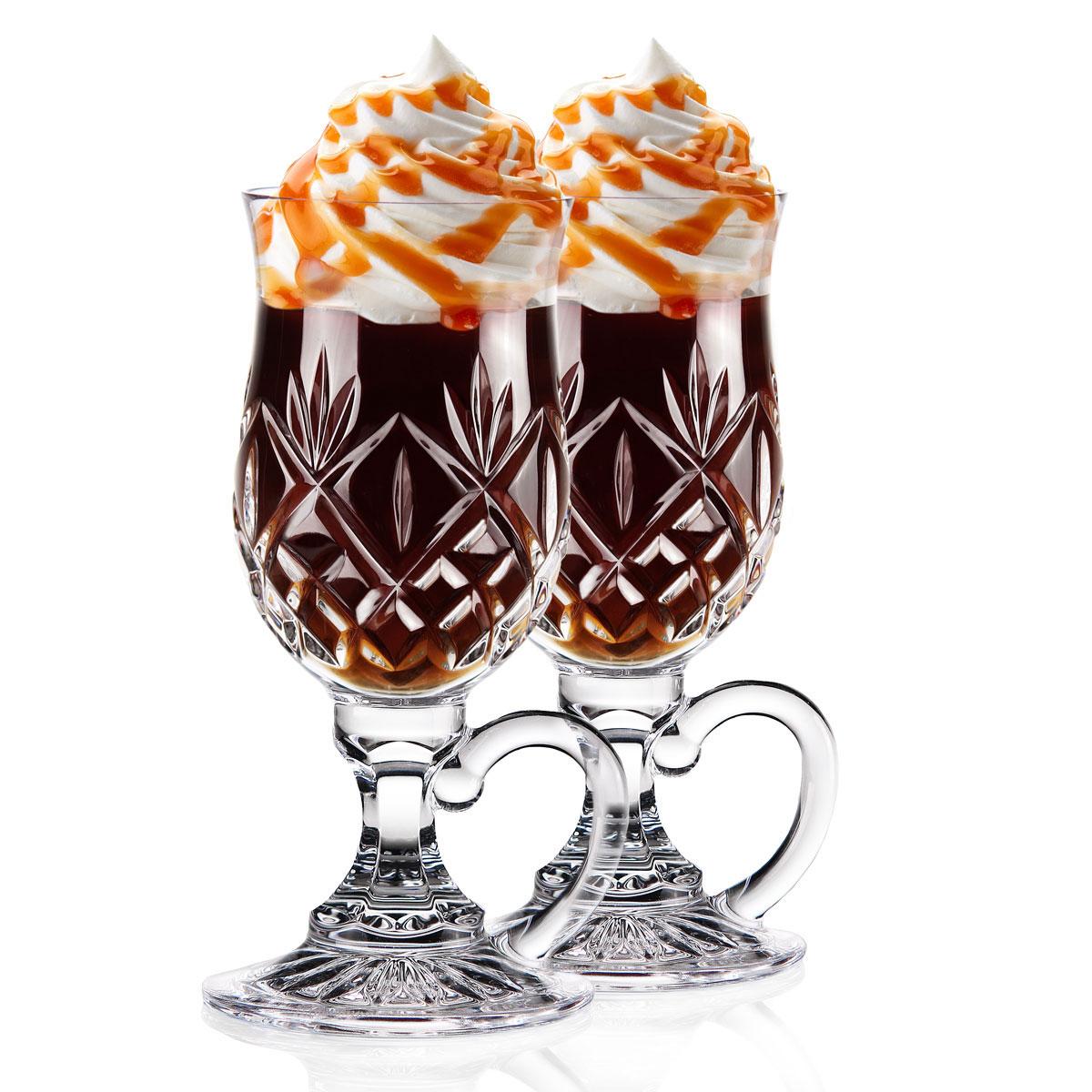 Waterford Huntley Irish Coffee Crystal Glasses, Pair