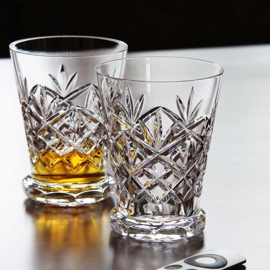 Waterford Crystal, Huntley Footed Whiskey Tasting Glasses, Pair