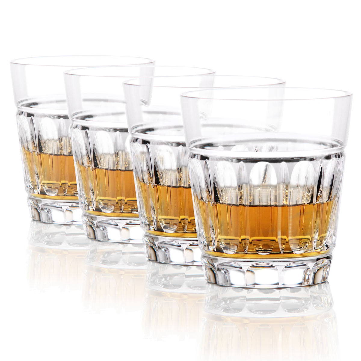 Waterford Bolton Crystal DOF Tumblers, Set of Four