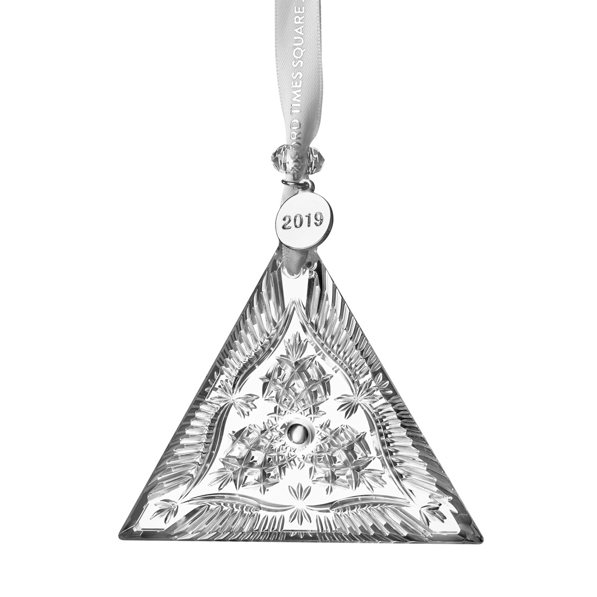 Waterford crystal 2019 times square triangle ornament - Waterford crystal swimming pool times ...