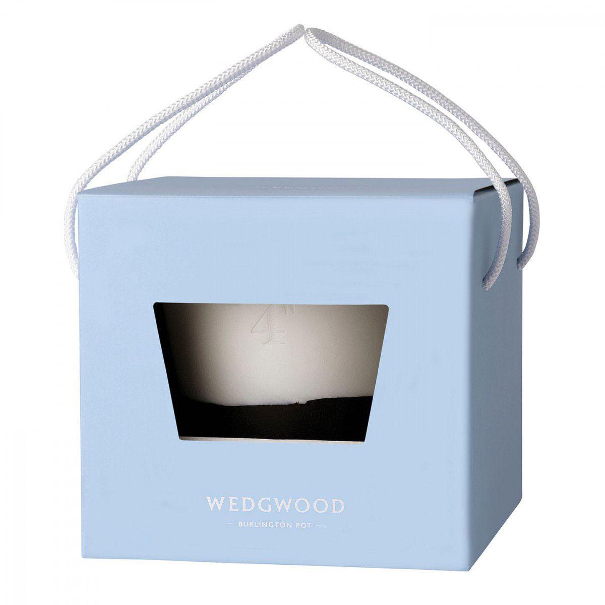 "Wedgwood Jasperware Burlington Pot 4"", Black and White"