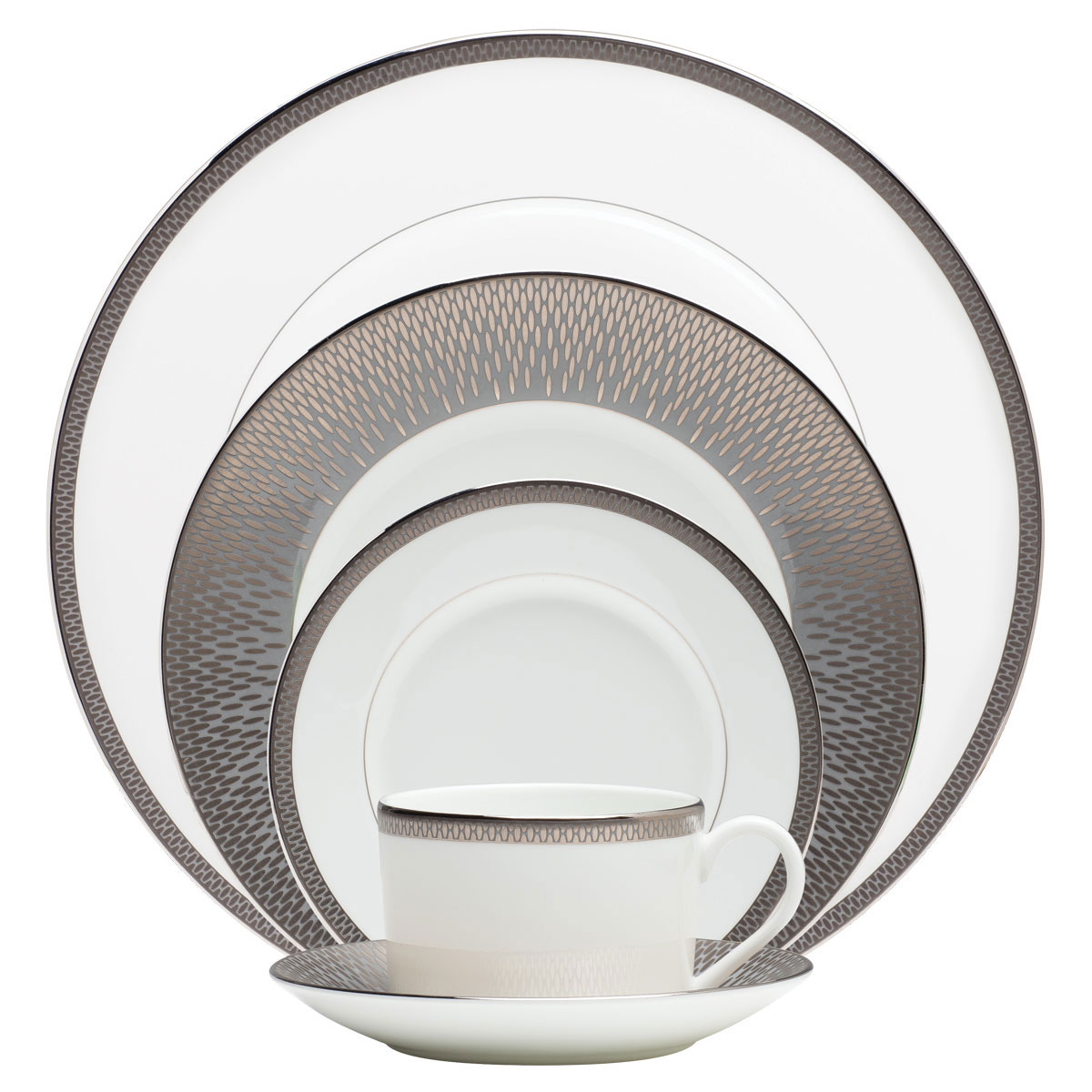 Waterford China Aras 5 Piece Place Setting