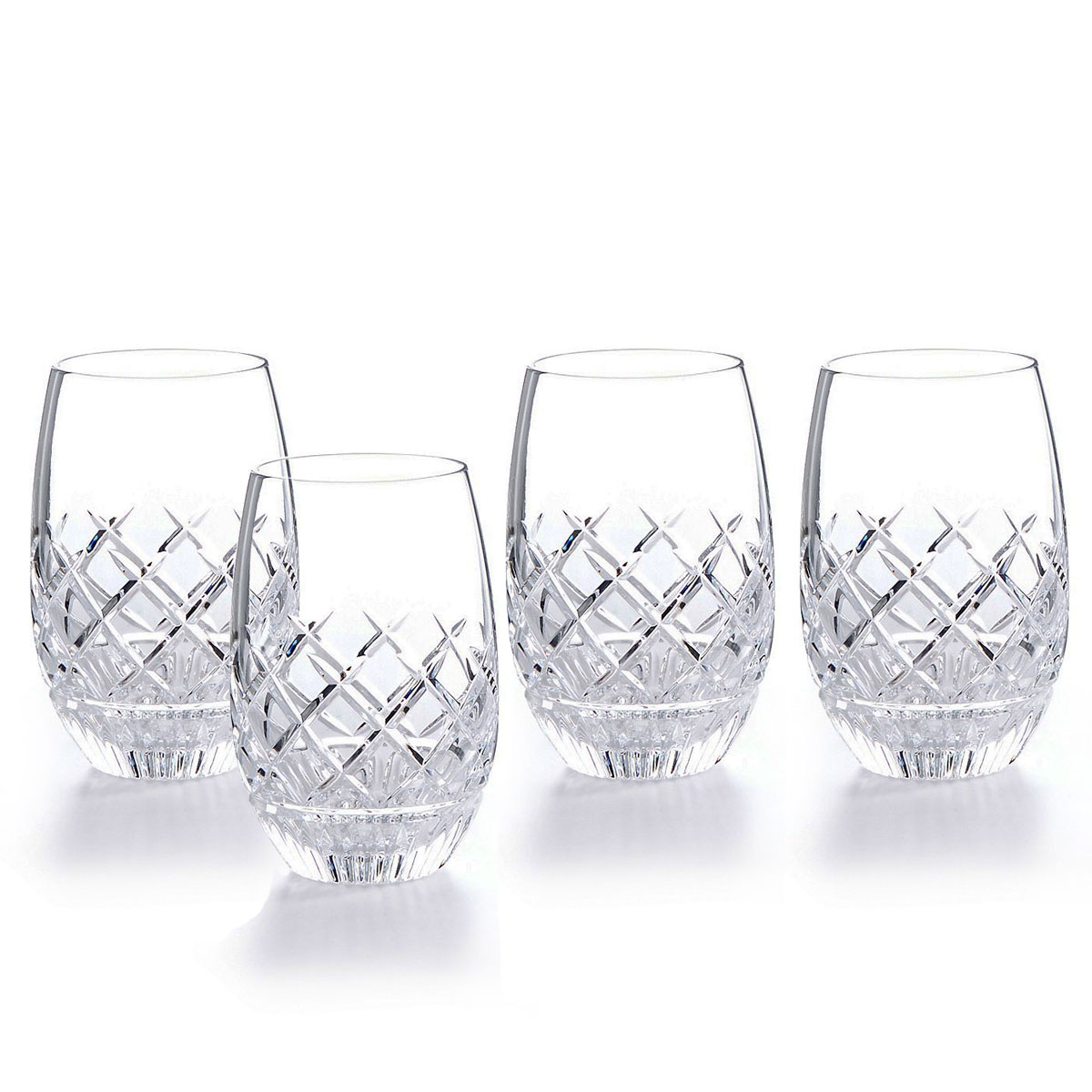 Waterford Crystal Eastbridge Stemless White Wine, Set of Four