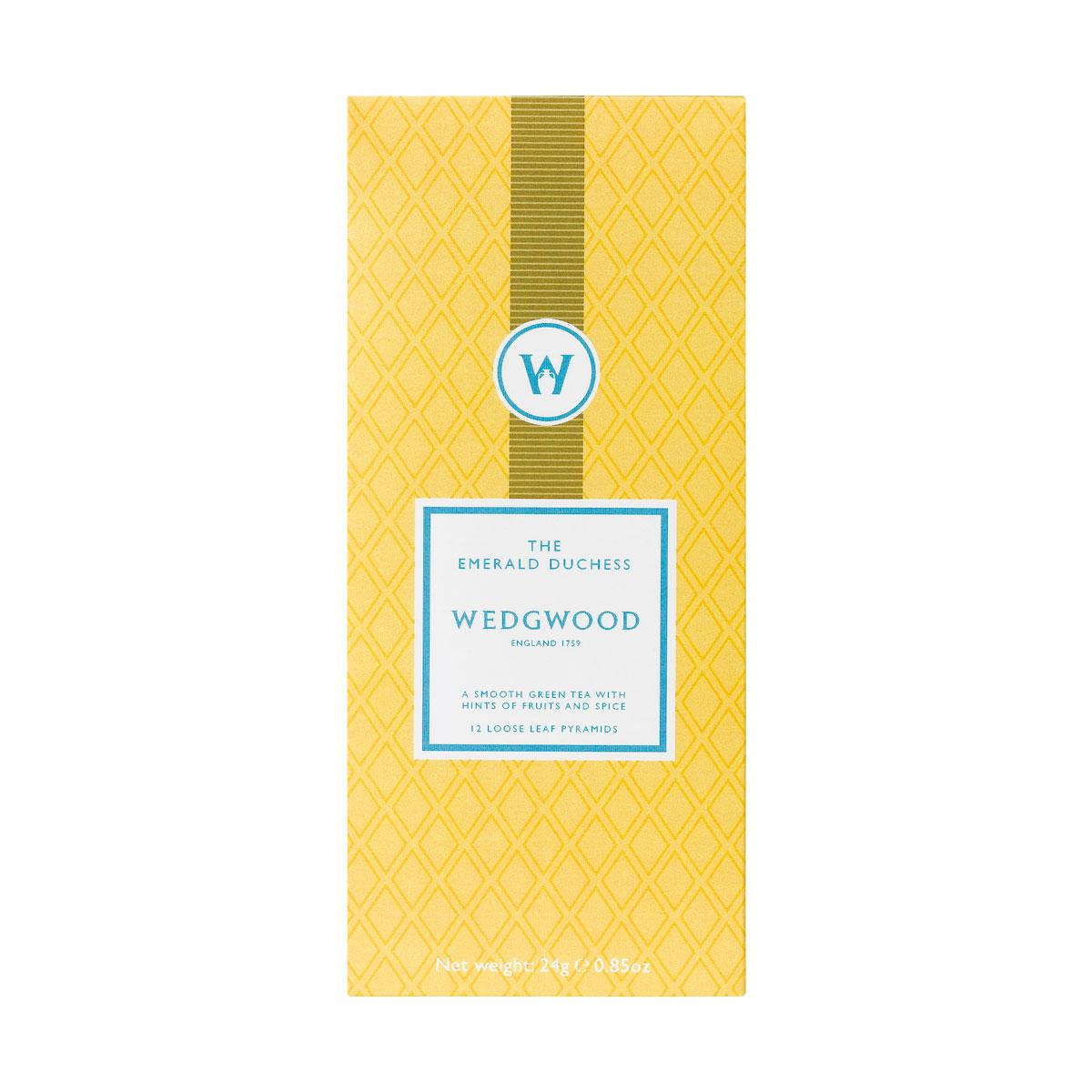 Wedgwood China Signature Tea Emerald Duchess Tea Box of 12