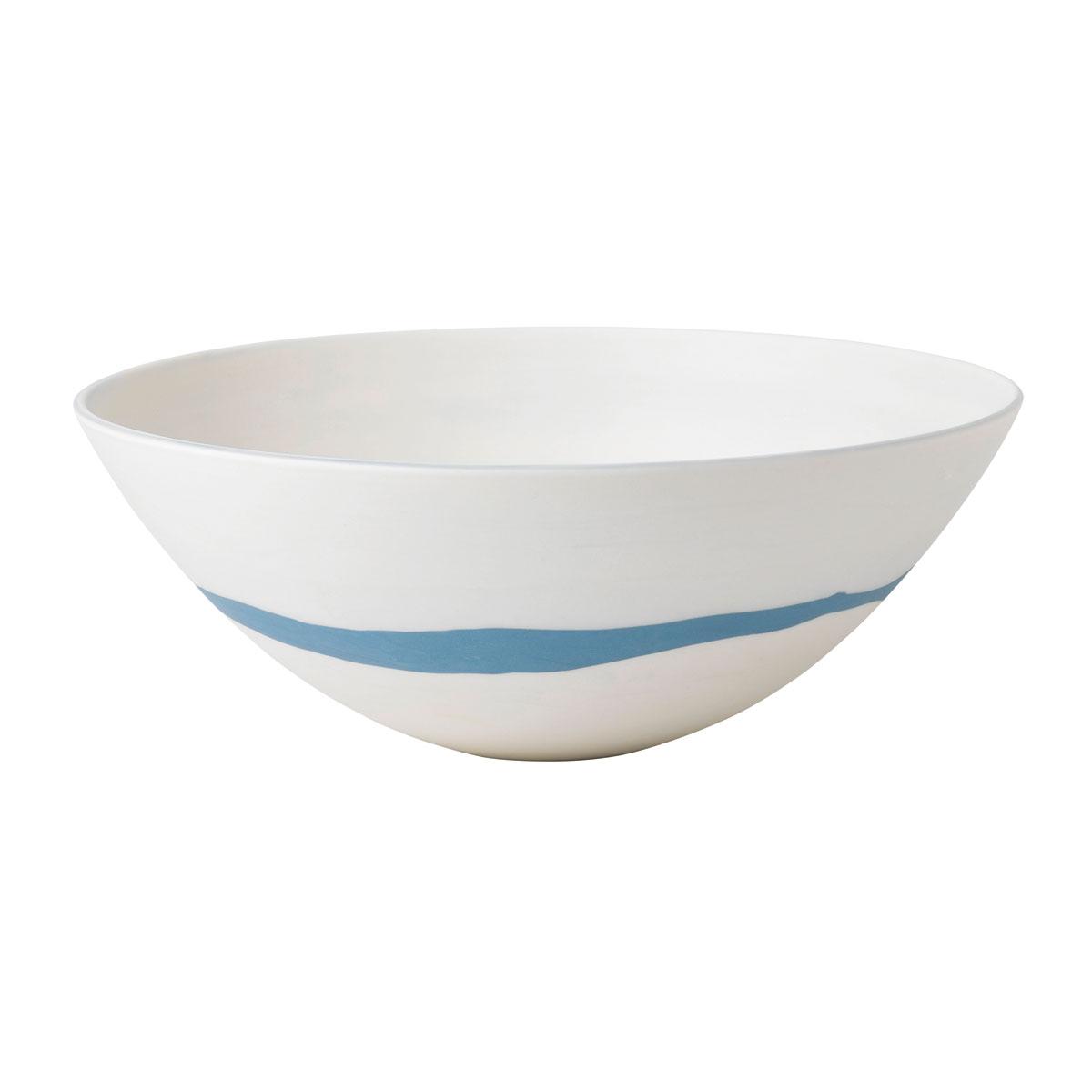 """Wedgwood China Blue Pebble Bowl 9.6"""""""