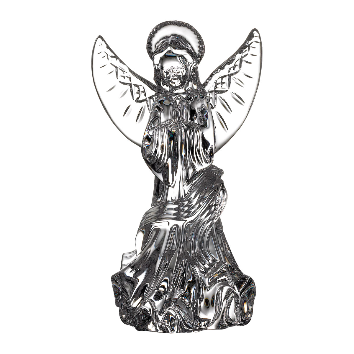 Waterford Crystal Lismore Angel of Prayer Sculpture