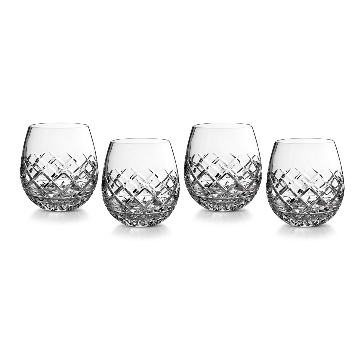 Waterford Crystal Eastbridge Stemless Red Wine, Set of Four