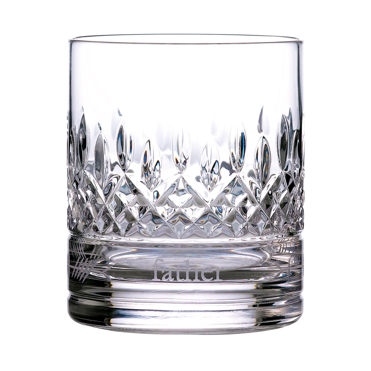 Waterford Crystal Lismore Ogham Tumbler, Father