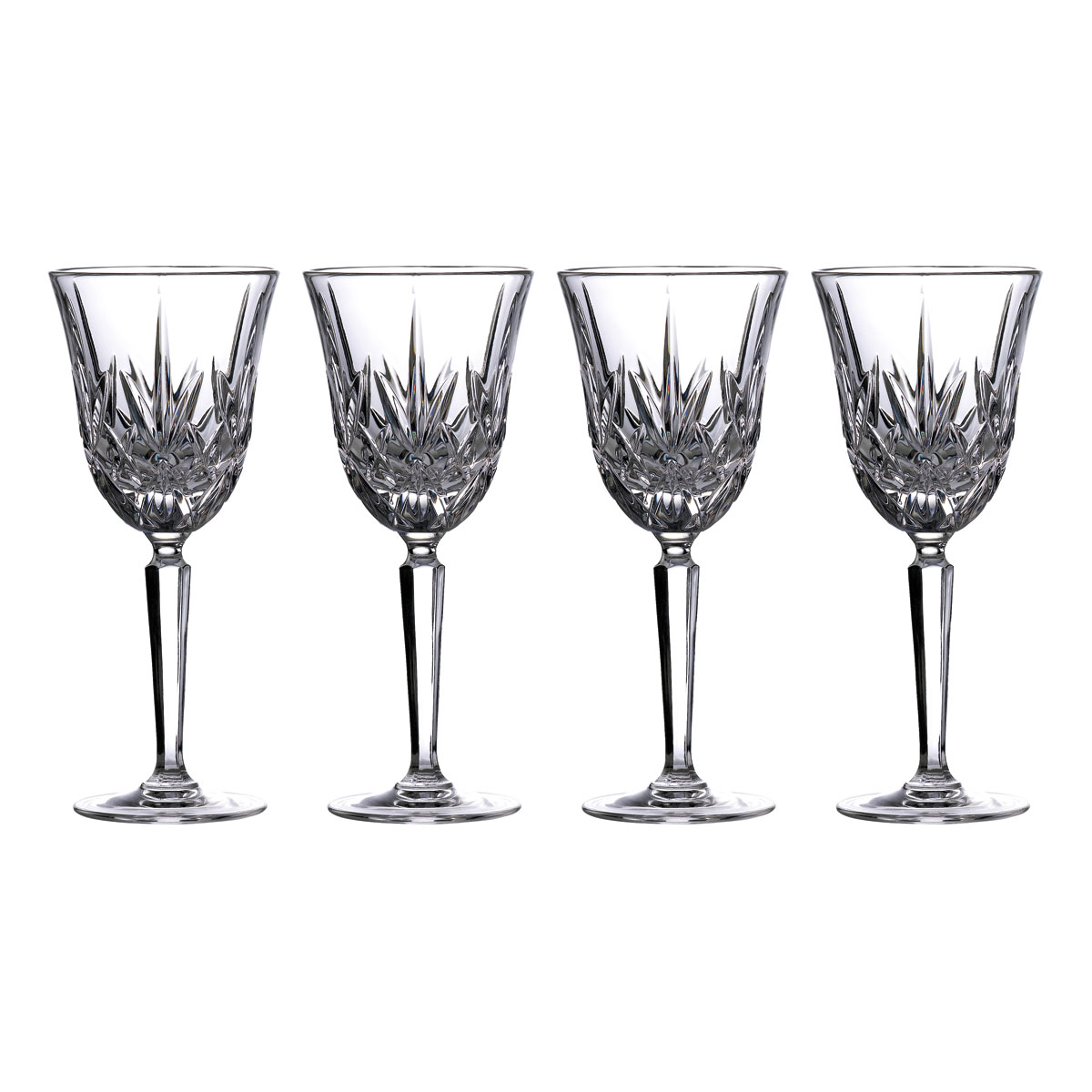 Marquis by Waterford Crystal Maxwell White Wine Set of Four