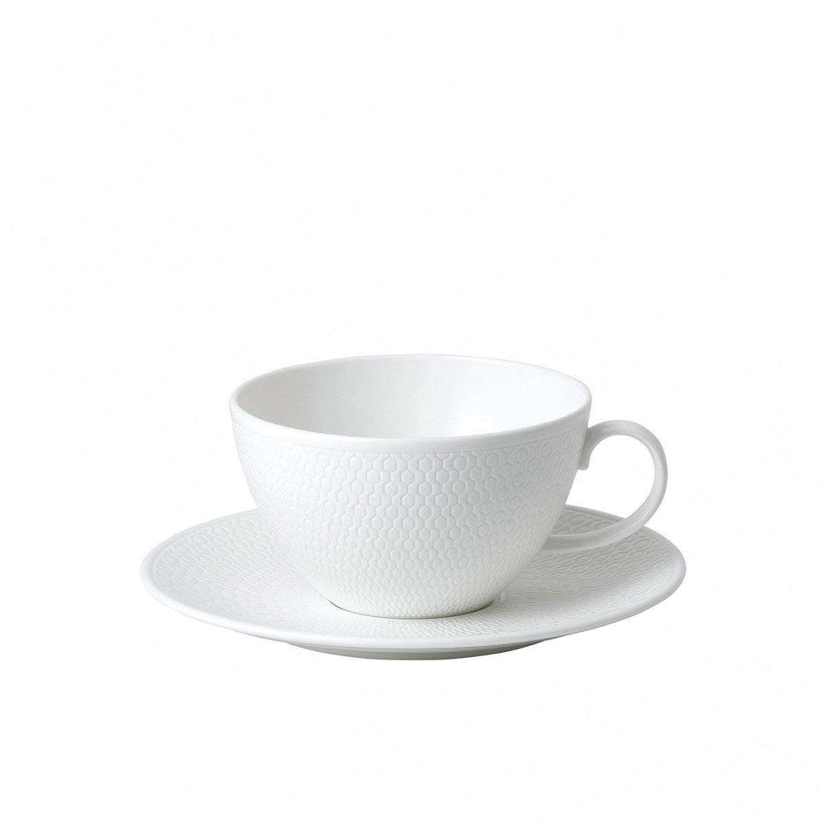 Wedgwood Gio Breakfast Cup and Saucer Set