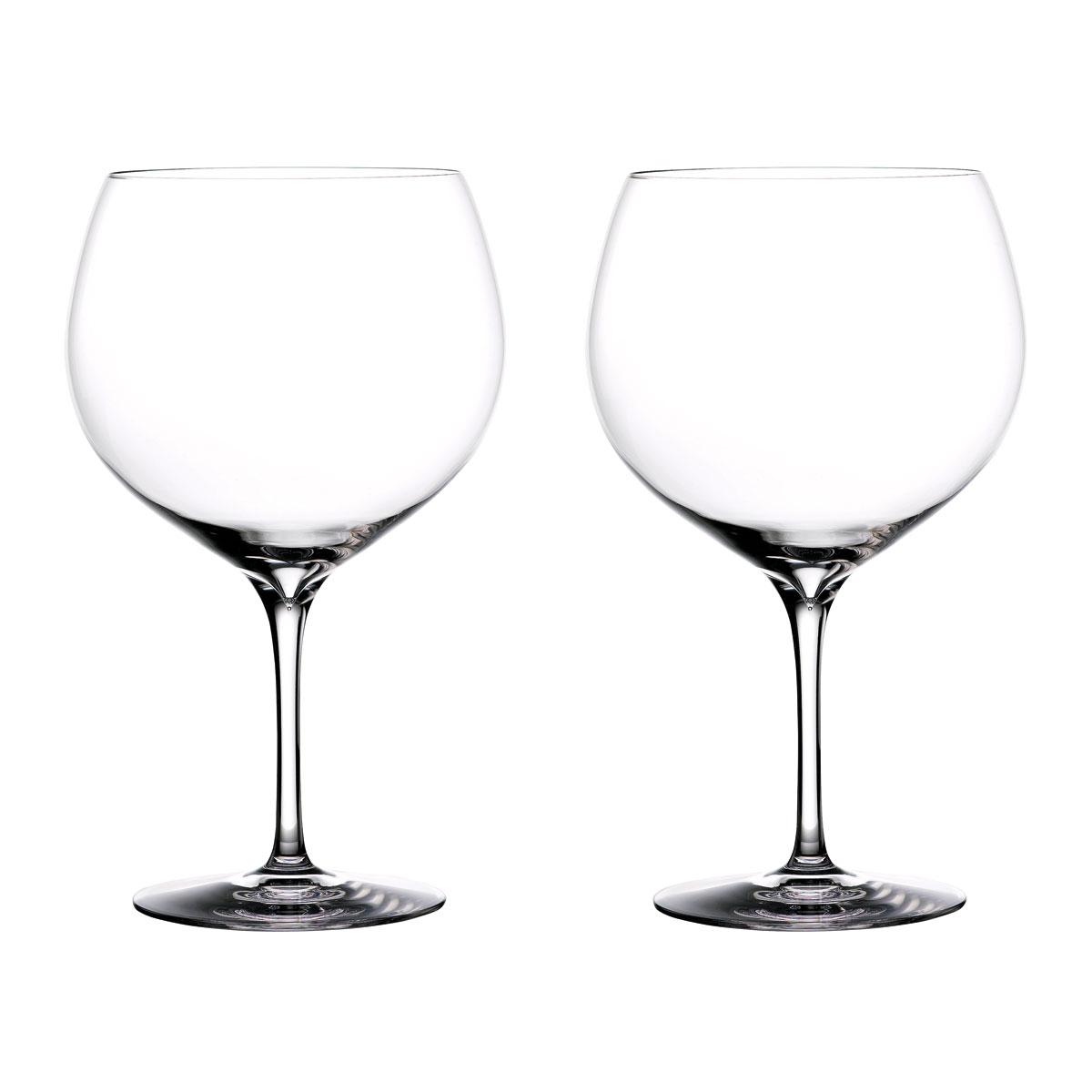 Waterford Crystal Gin Journeys Elegance Balloon Glasses, Pair